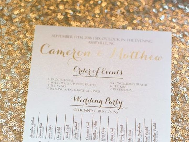 Tmx 1491939850807 149072068446246637364534338970189874898n Sarasota, FL wedding invitation