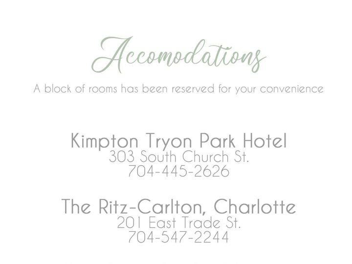 Tmx Accomodations Copy 51 970992 158981397918092 Sarasota, FL wedding invitation