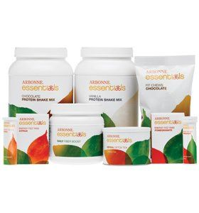 Arbonne Essentials 30-day Fit Kit:  2 Protein Shake Mix (Chocolate or Vanilla), 2 Energy Fizz Tabs...