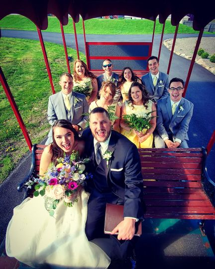 Trolley to the Ceremony