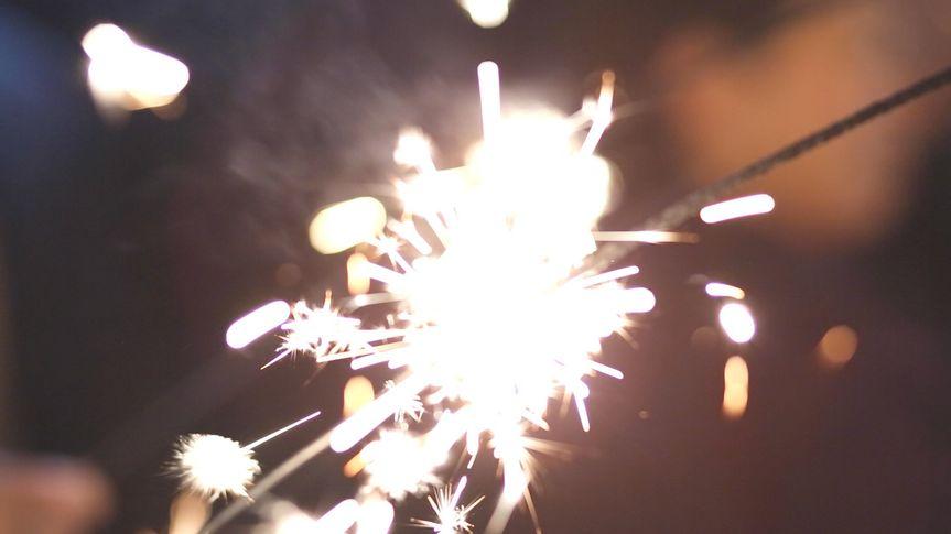 debbie and mark sparkler