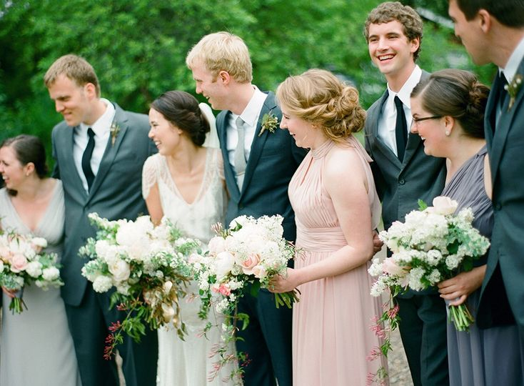 Bridal Party in Stillwater, MN