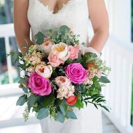 CCF Garden Bridal Bouquet