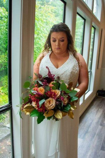 CCF Fall Bridal Bouquet