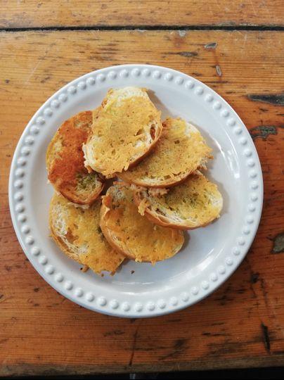 Pan tostado con queso #Tasting