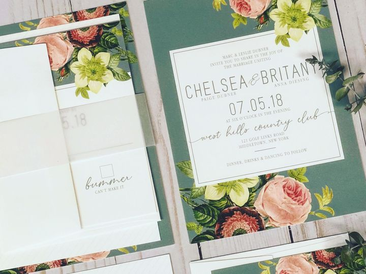 Tmx 1530889395 3f0824bebeeabfa7 1530889393 E2a27abd1f5d2d1f 1530889392965 1 IMG 0594 Fishkill, NY wedding invitation