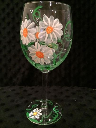 Spring Wedding Glass