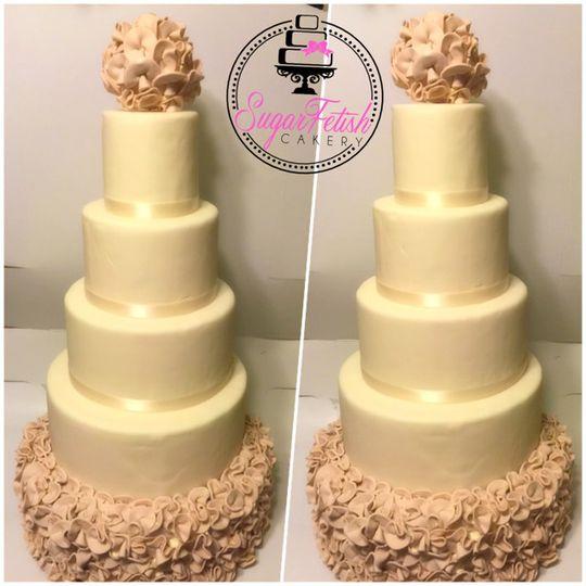 Sugar Fetish Cakery - Wedding Cake - Piscataway, NJ - WeddingWire
