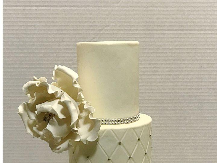 Tmx White Wedding 51 908992 Piscataway, NJ wedding cake