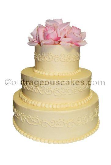 Outrageous Cakes - Wedding Cake - Tampa, FL - WeddingWire
