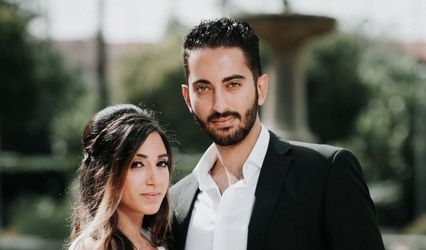The wedding of Erika and Jonathan