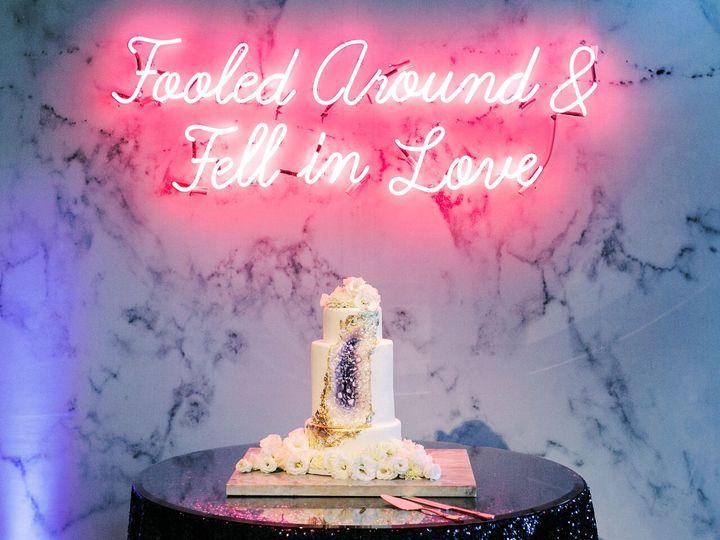 Agate Wedding Cake