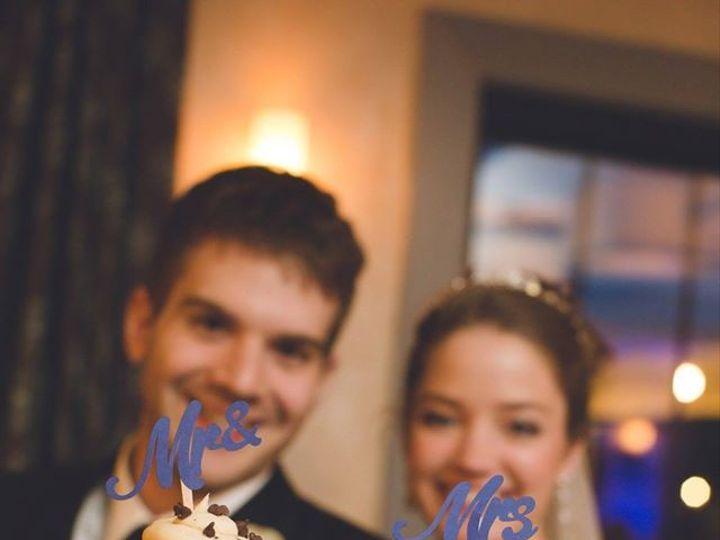 Tmx 1442338913087 Mr And Mrs Cupcake Manchester, New Hampshire wedding cake