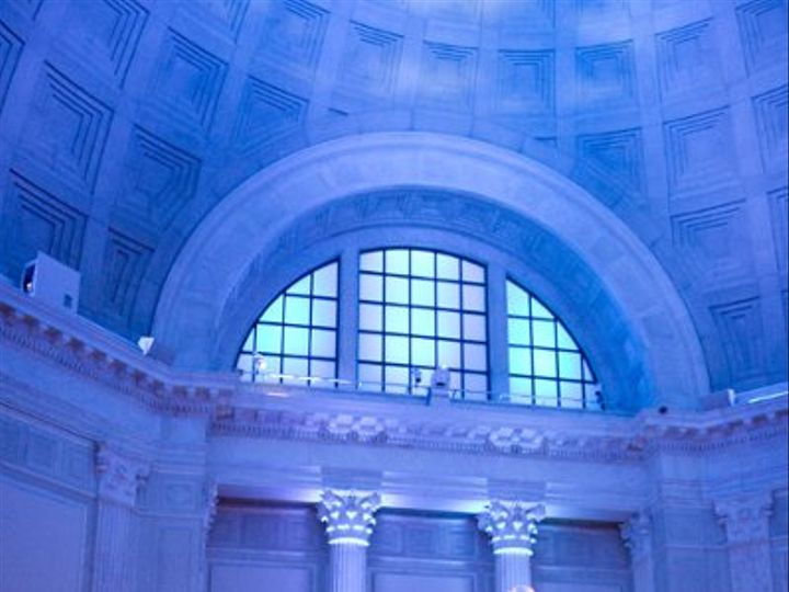 Tmx 1259956845294 FranklinHallinBluelighting2 Philadelphia, PA wedding venue