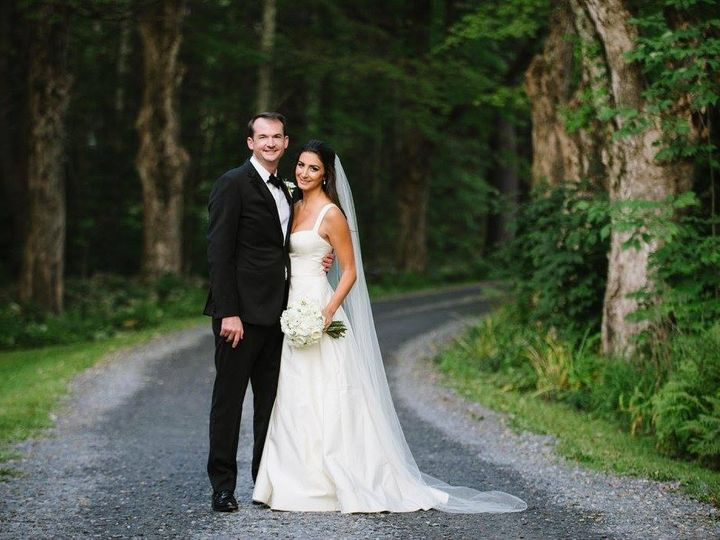 Tmx Bride Groom On Driveway 51 421003 V1 Perkinsville, VT wedding venue