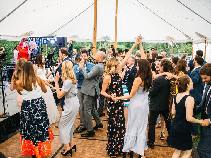 Tmx Dancing Under Sailcloth Tent Labor Day Wedding 51 421003 Perkinsville, VT wedding venue