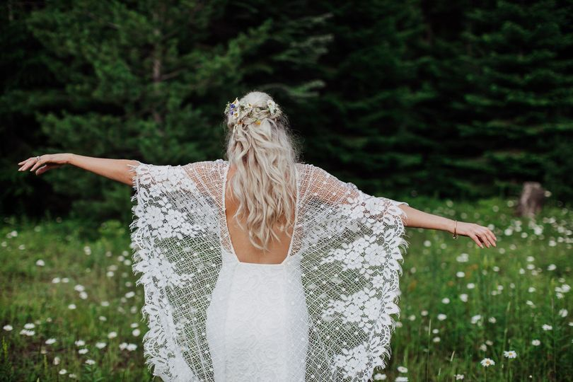 Boho wedding gown - Shana Bailey Photography