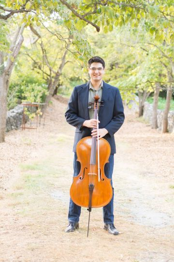 Cellist photoshoot