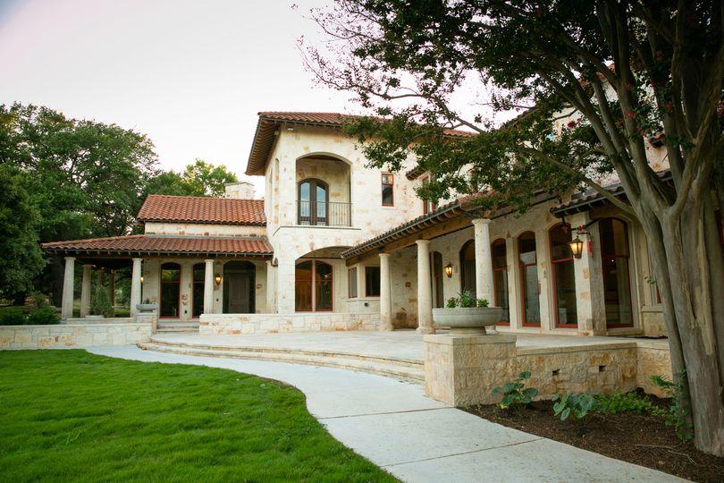 Back patio (Addison Studios)