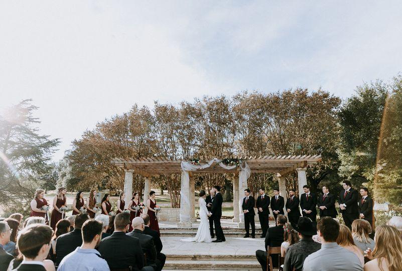 Terrace Ceremony -Alyssa Beach