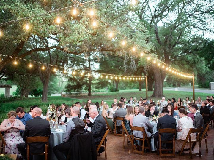 Tmx Courtyard Reception Dusk 51 991003 1562013331 Georgetown, TX wedding venue