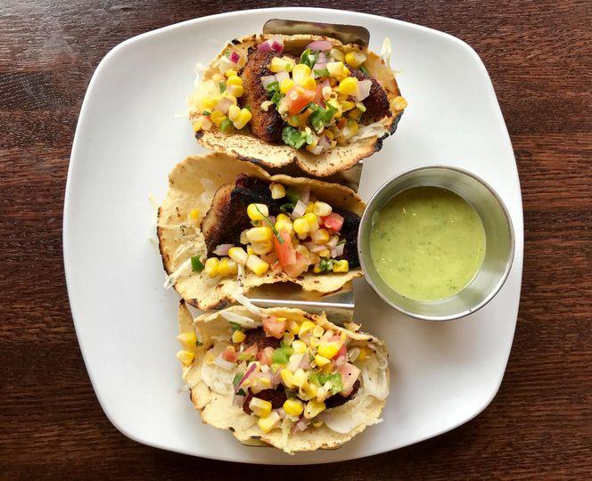 MD blue catfish tacos