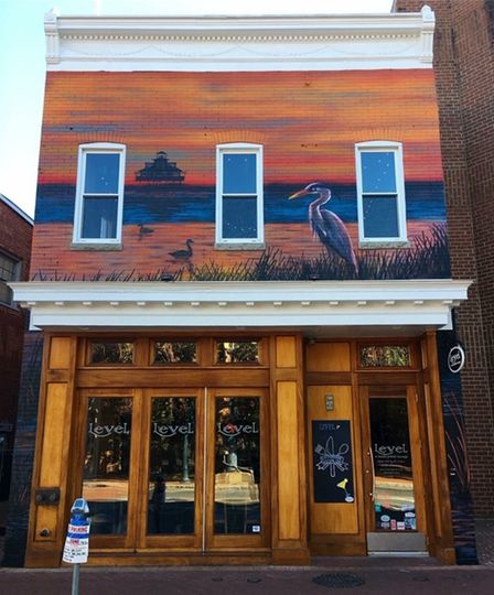 New mural by Jeff Huntington