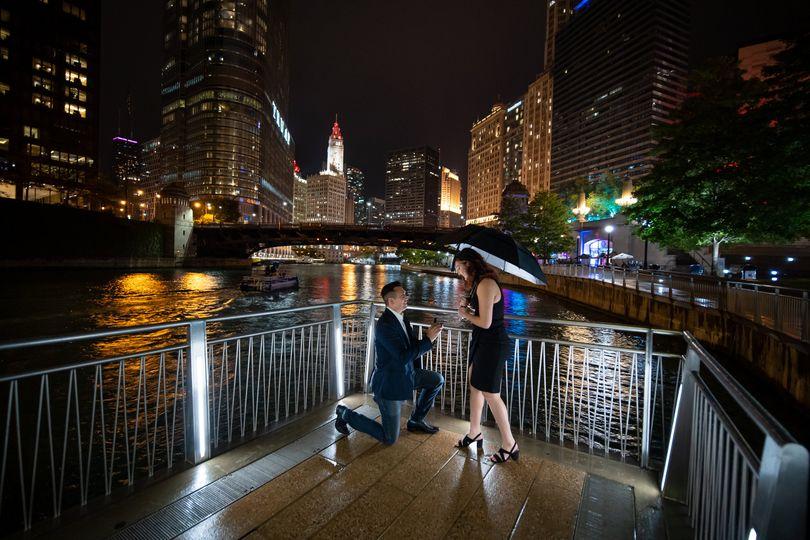 A romantic proposal