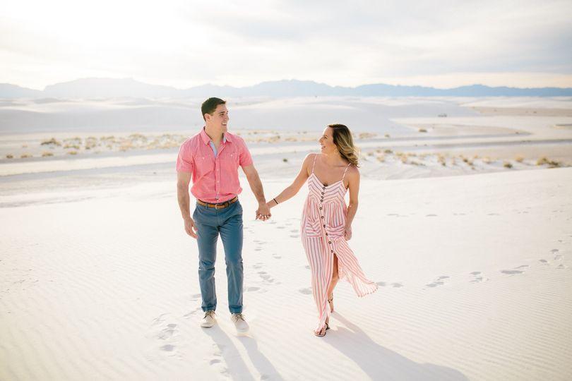 White Sands El Paso Wedding