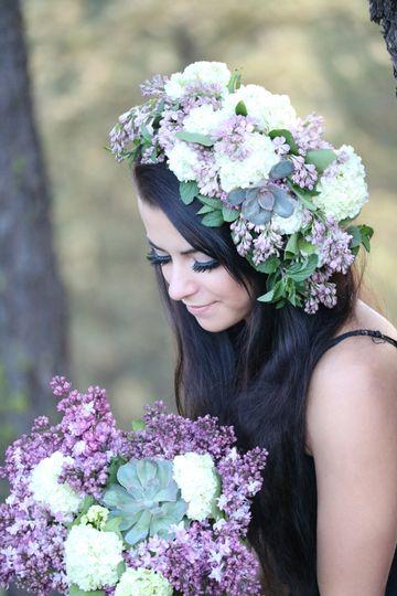 Wearable flowers