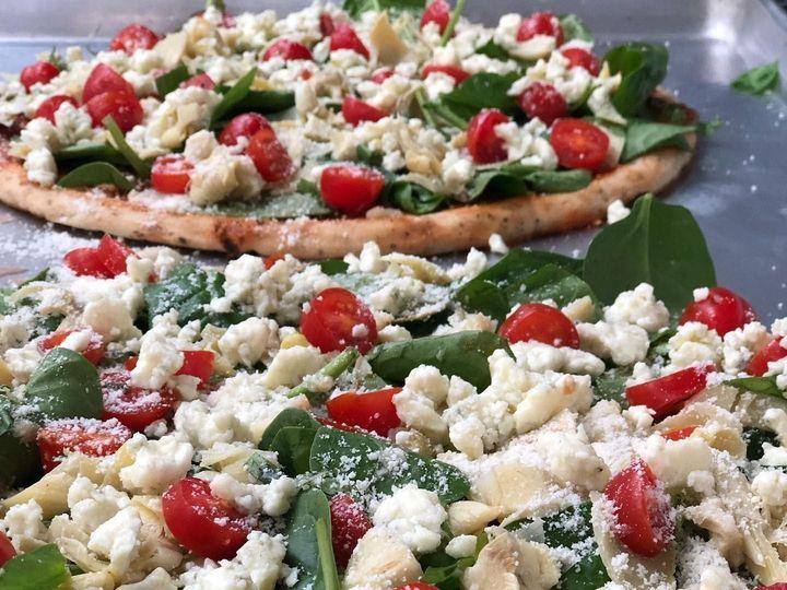 Tmx Spinach Artichoke Flatbreads With Tomato Pesto Base 51 1044003 1562948267 Edgewater, FL wedding catering