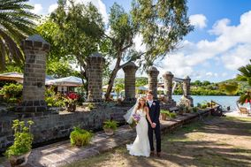 Antigua wedding photo