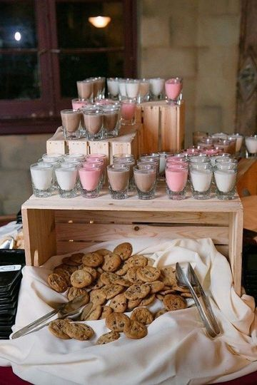 Delightful dessert display