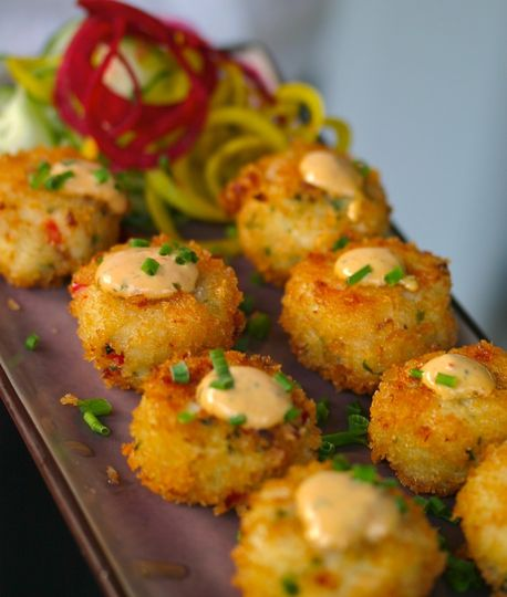 The Wire Crab Cakes
