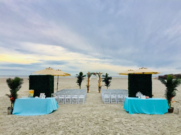 Tmx 1527618694 Eee9fba20860739d 1527618693 68cce7edbb21e872 1527618692684 2 Beach Ceremony Wit Isle Of Palms, South Carolina wedding venue
