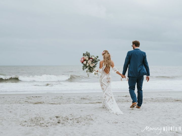 Tmx Bride And Groom On The Beach 51 125003 Isle Of Palms, South Carolina wedding venue