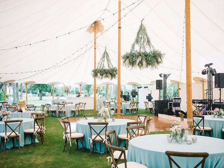 Tmx Sperry Tent Interior On Lawn 51 125003 Isle Of Palms, South Carolina wedding venue