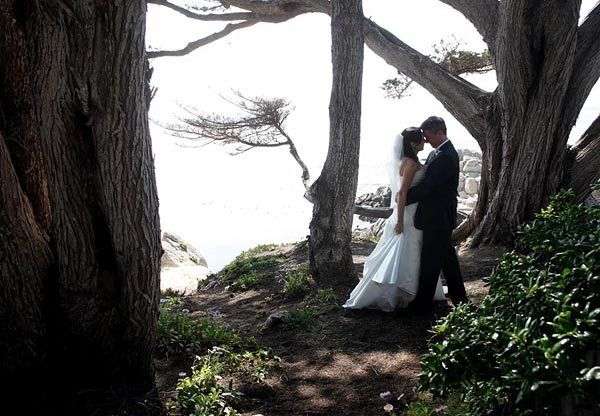 Wedding portrait in Carmel