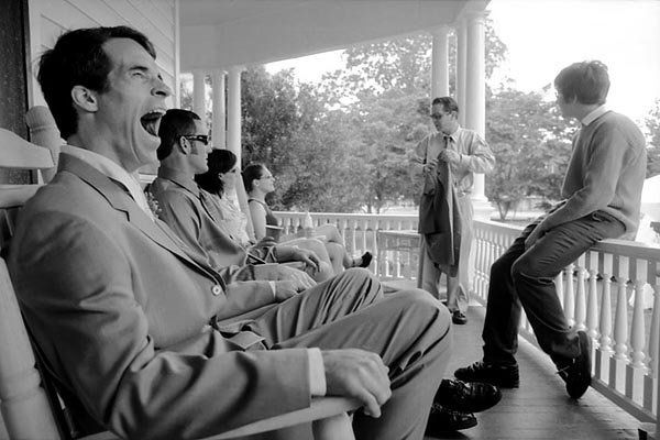 A yawn during a long wedding day in Alabama