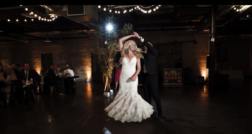 Jenna and Tyler Dance