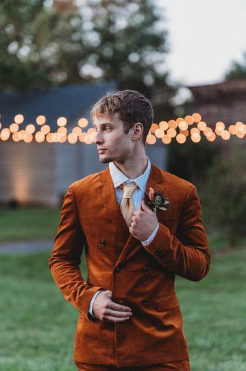 A groom candid - Rachel Betson Photography
