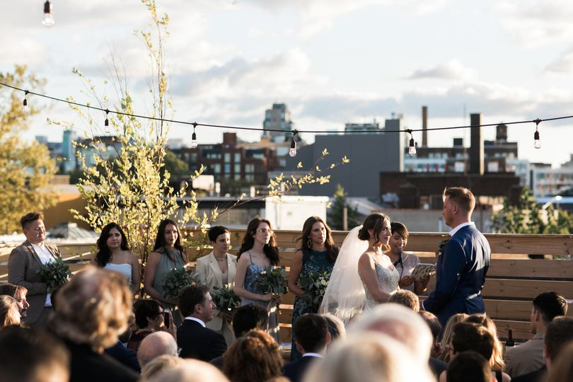 Brooklyn Rooftop Wedding