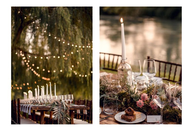 Wedding on the river