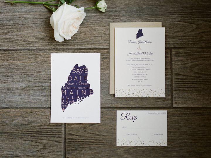 Tmx 1485294236599 Web Maine Suitesarahderphotography 501 Newburyport wedding invitation