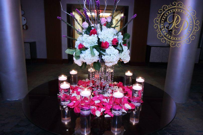 Entrance floral piece