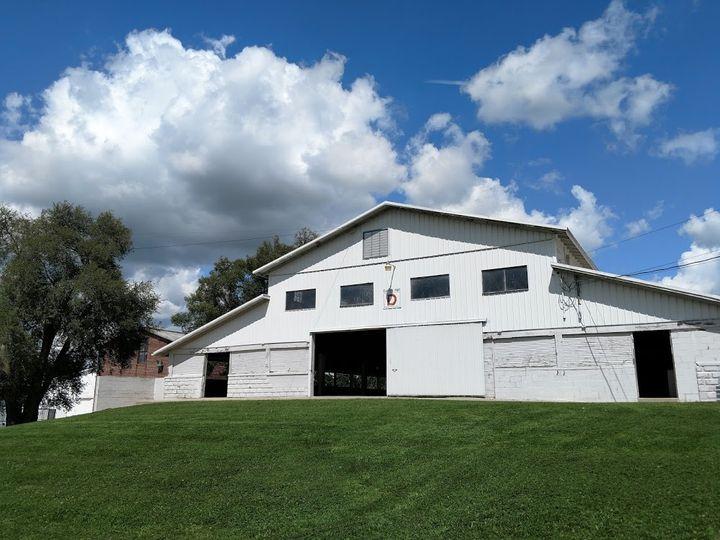 Historic White barn - exterior