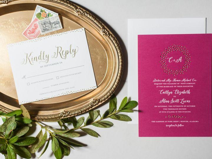 Tmx 1474558321910 01 Birmingham, Alabama wedding invitation