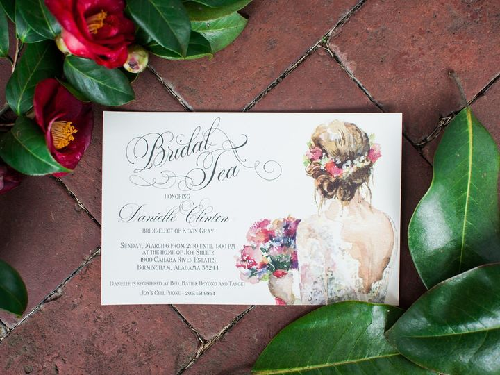 Tmx 1474558352043 05 Birmingham, Alabama wedding invitation
