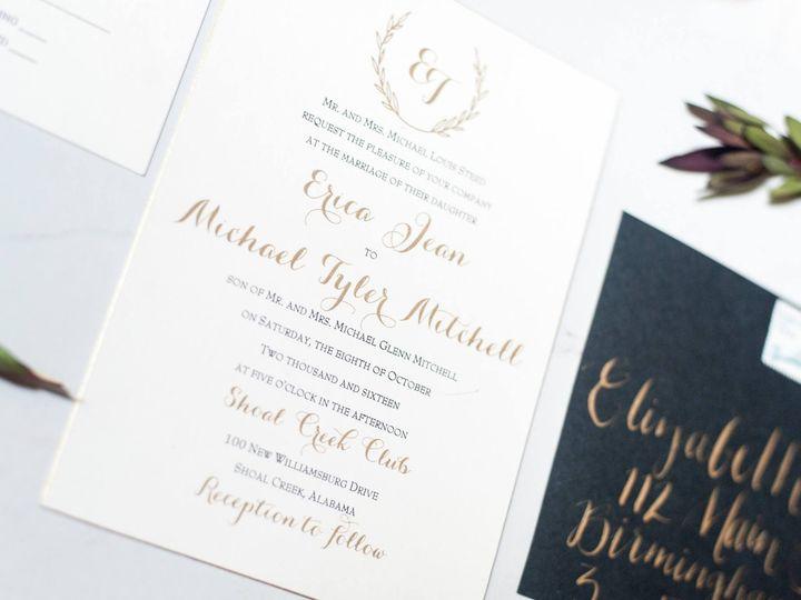Tmx 1474558372085 07 Birmingham, Alabama wedding invitation