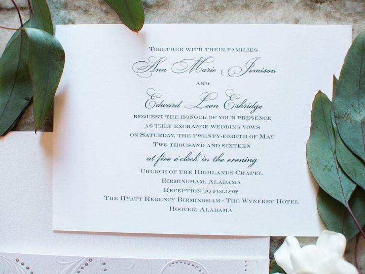 Tmx 1474558382039 08 Birmingham, Alabama wedding invitation
